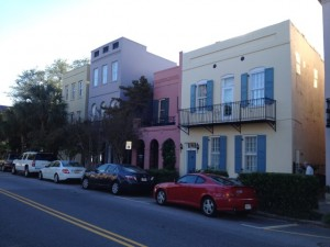 Rainbow Row - Charleston